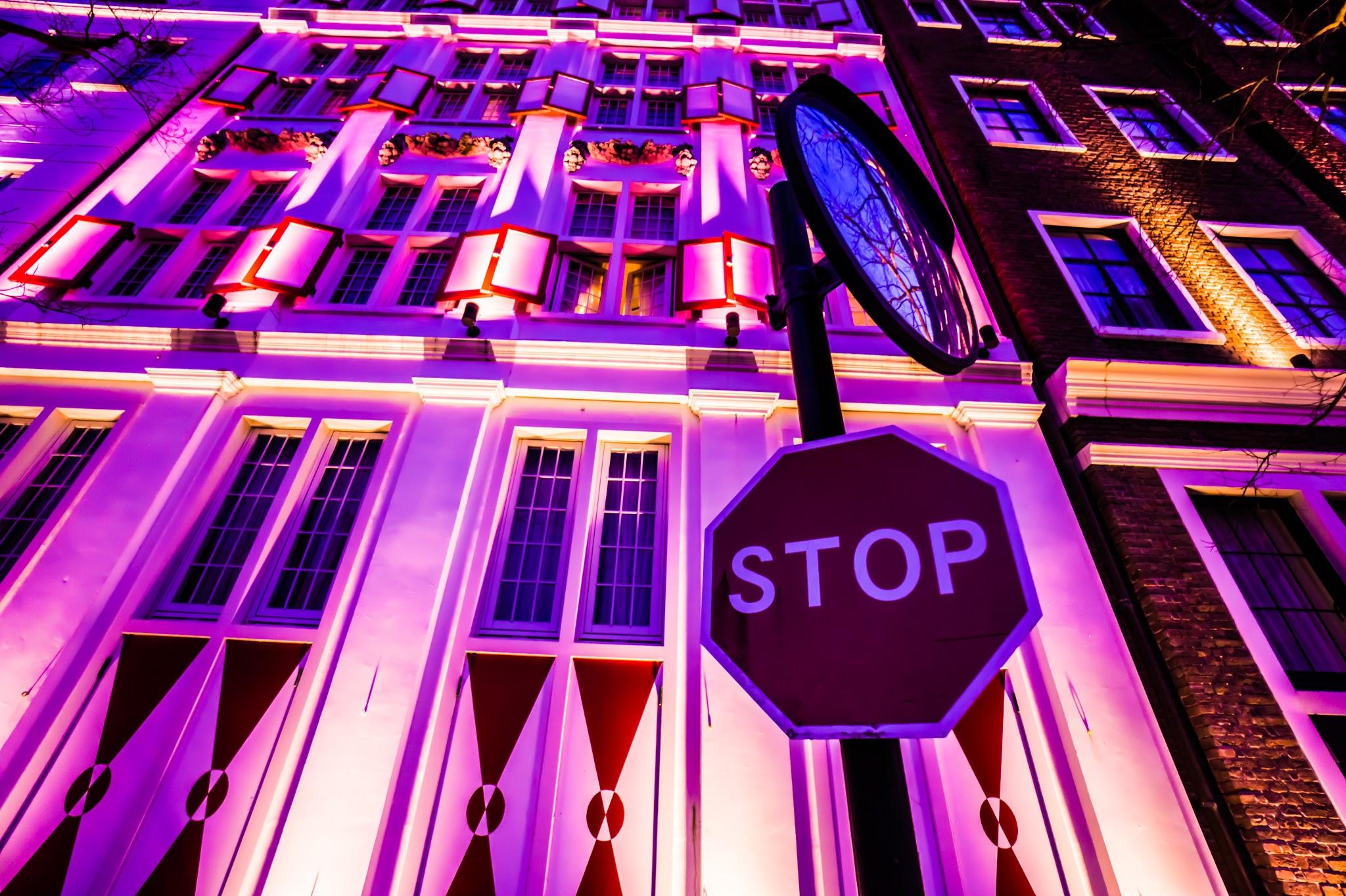 ハウステンボス イルミネーション 光の王国 アムステルダムシティ4