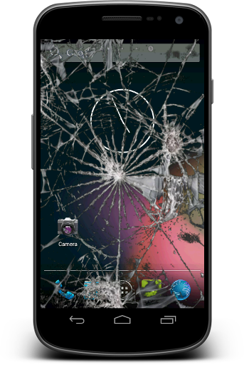Screenshots of Crack My Screen - Prank Fun for Android