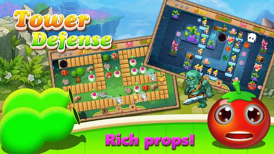 Tower Defense : Fruit War screenshot