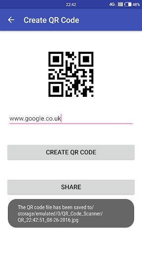 QR Code Scanner 2017 screenshot 7