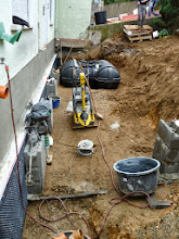 """Photo: Wasserzisterne ist nun woanders als geplant aber auch ok......ging nicht wegen dem Fundament des """"Vorbaues"""""""