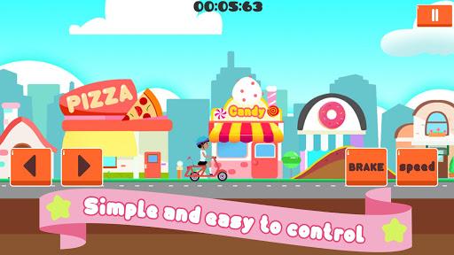 Girls run bike: Real bike racing 1.0 screenshots 1