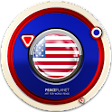 Midway-Islands clock widget icon