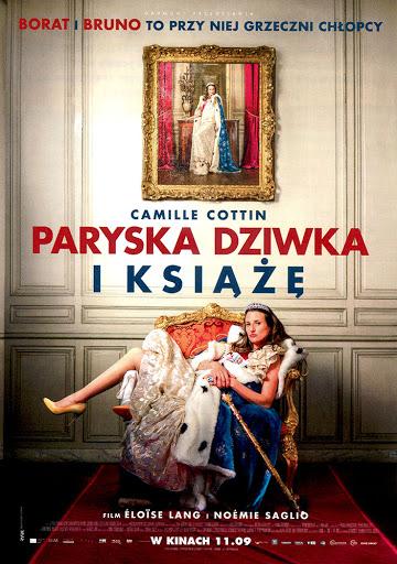 Przód ulotki filmu 'Paryska Dziwka i Książę'