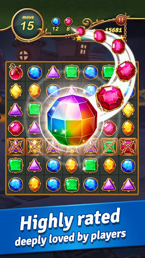 Jewel Castleu2122 - Classical Match 3 Puzzles apktram screenshots 2