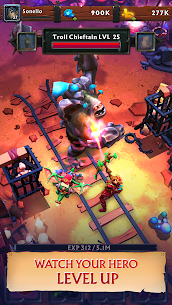 Never Ending Dungeon – IDLE RPG Apk Download For Android and Iphone 5