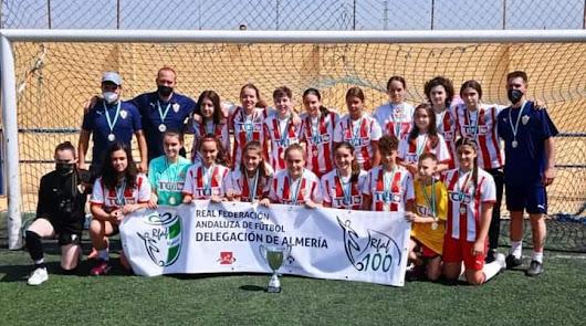 El Almería se proclama campeón de la Segunda Andaluza Cadete Femenina