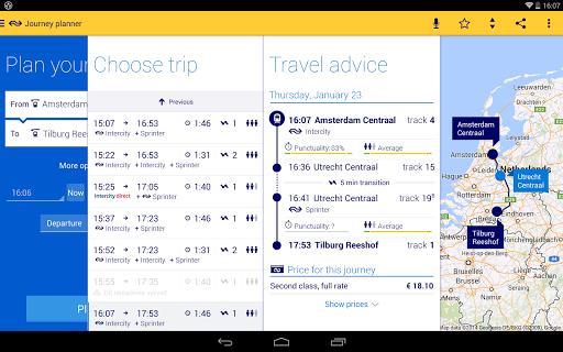 Reisplanner Xtra screenshot 7