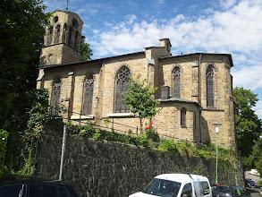 Photo: Die Auferstehungskirche an der Elfriedenhöhe.