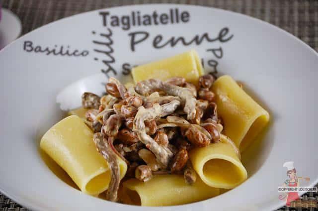 Paccheri with Beef and Carrettiera Pesto Recipe