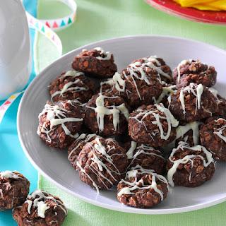 No-Bake Fudgy Coconut Cookies.