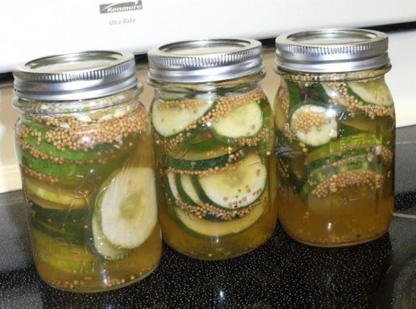 Sliced Refrigerator Pickles Recipe