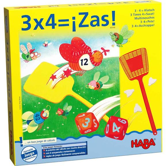 """3 x 4= ¡Zas"""""""