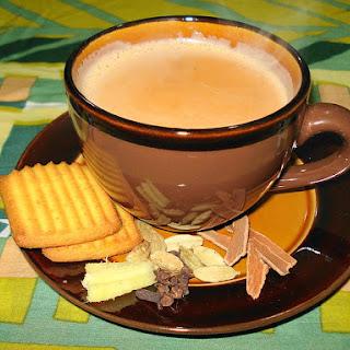 Authentic Indian Chai Tea.