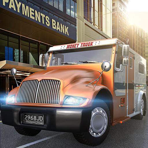 USA Bank Cash Truck Simulator 2017