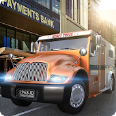 USA Bank Cash Truck Simulator 2017
