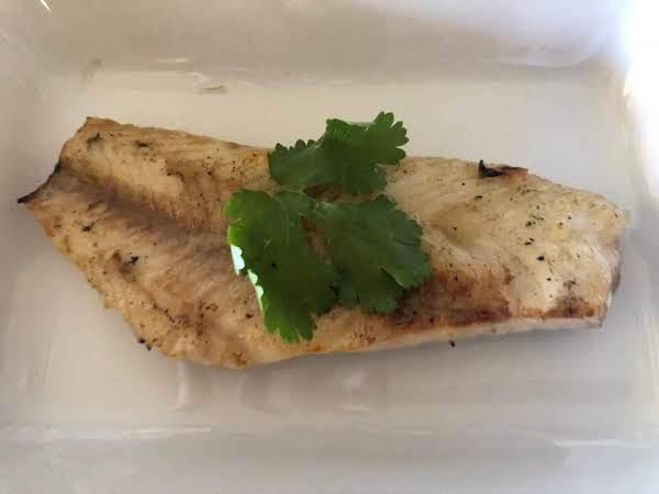Miso Butter Grilled Fresh Catch Bass Fillet Recipe