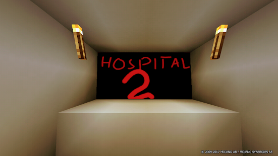 Horror in the Hospital-2 MCPE Map - náhled