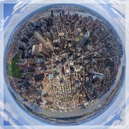生きている地図衛星