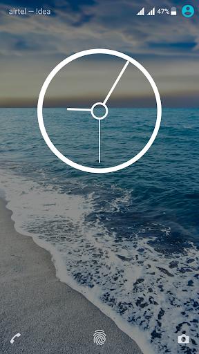 Cool Waves Theme For Xperia screenshot 3