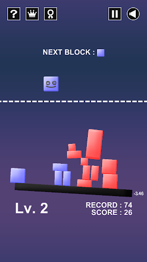 Physitris : Block Physics Game