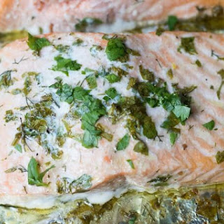 Fresh Herb Baked Salmon Recipe
