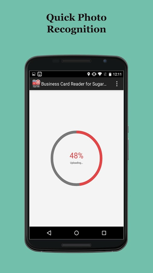 Free Business Card Scanner for Sugar CRM- screenshot