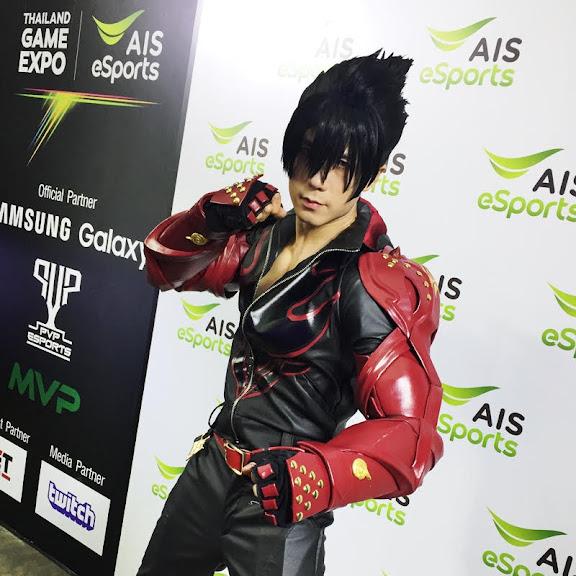 Thailand Garme Expo cosplay