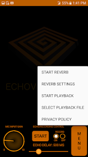 ECHOVOX TOUCH EVT ITC DEVICE Screenshot