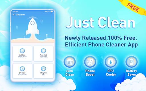 Just Clean screenshot 1