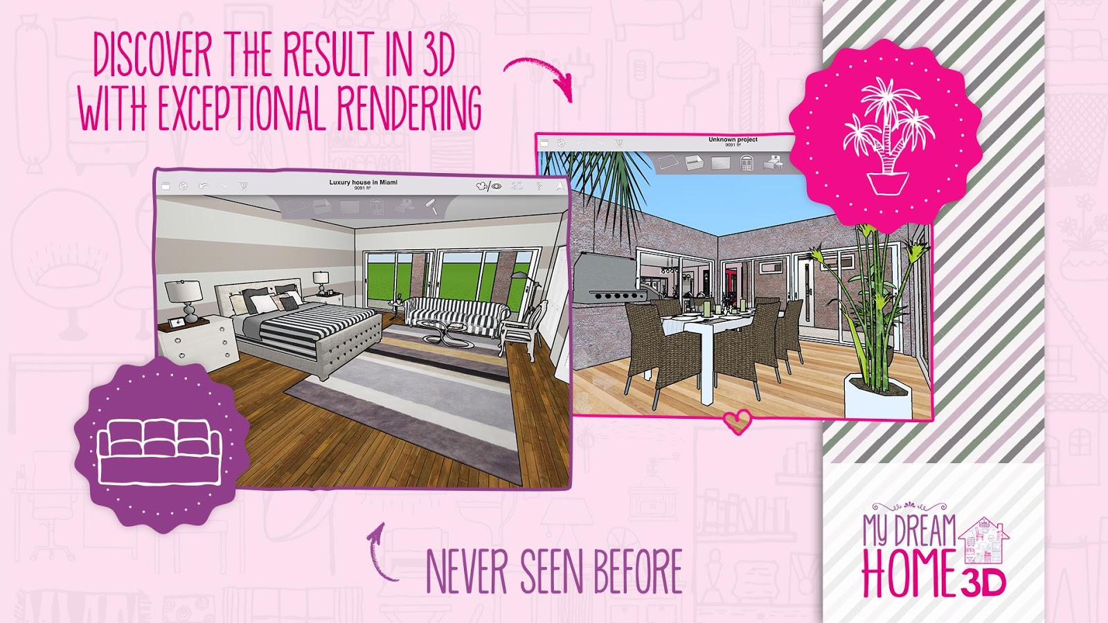Home design 3d my dream home android apps on google play for 3d house app
