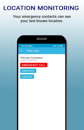 patronus - personal safety screenshot 3
