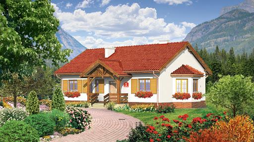 projekt Dom przy Chabrowej