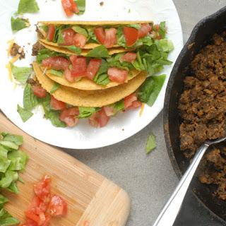 Mushroom Lentil Vegetarian Taco Crumbles.