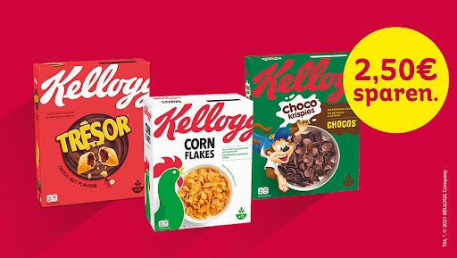 Bild für Cashback-Angebot: Kaufe 2 Kellogg's® Produkte und spare 2,50€ - Kellogg'S