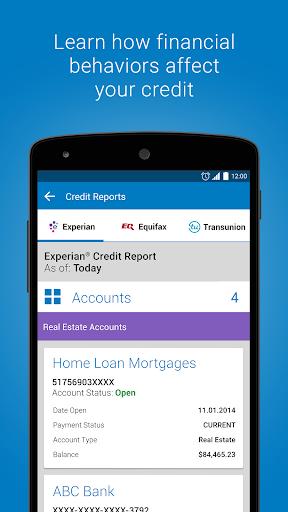 Experian - Free Credit Report Screenshot