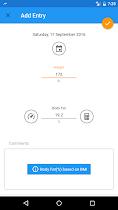 BMI and Weight Loss Tracker - screenshot thumbnail 08