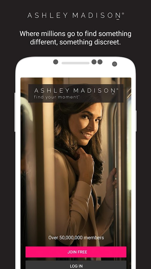 Ashley Madison: captura de pantalla