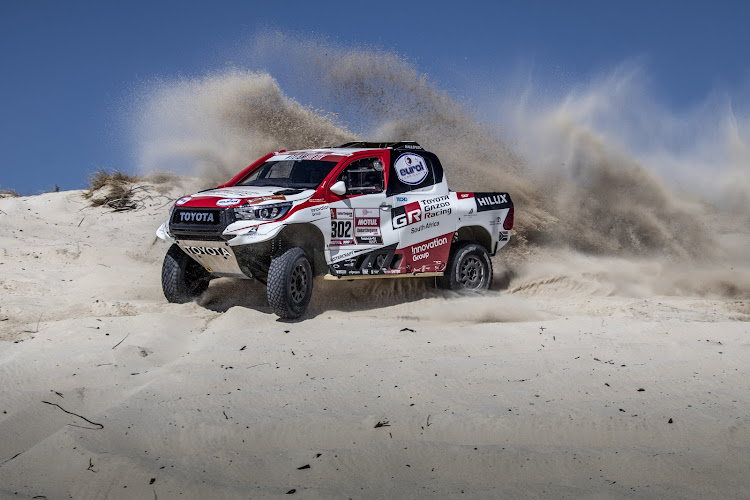Toyota Gazoo Racing SA's three-car team will take the latest evolution of the Toyota Hilux to South America. Picture: SUPPLIED