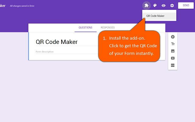 Qr Code Maker Google Forms Add On