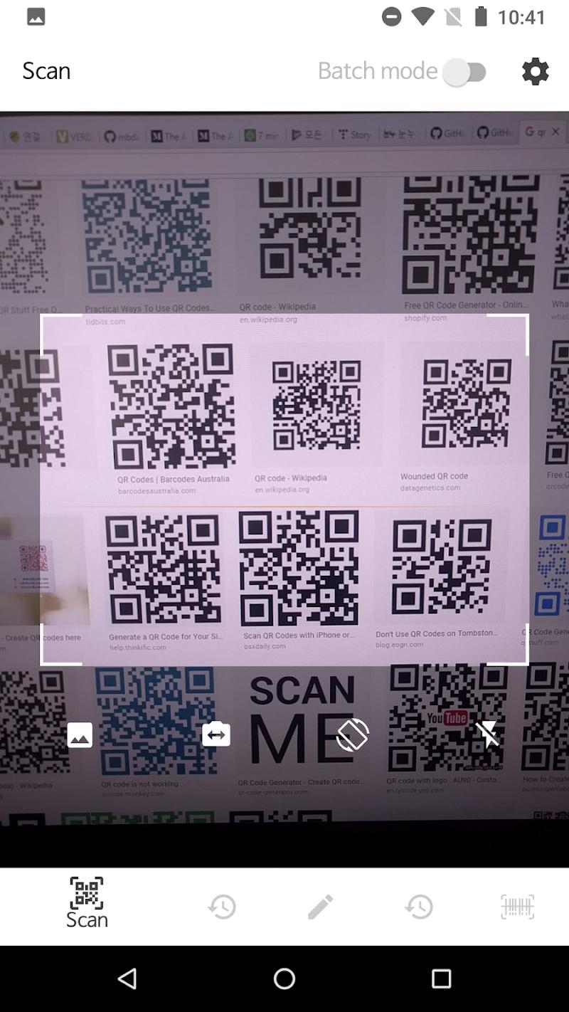 QR BarCode Screenshot 0