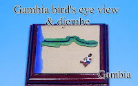 Gambia bird's‐eye view -Gambia-