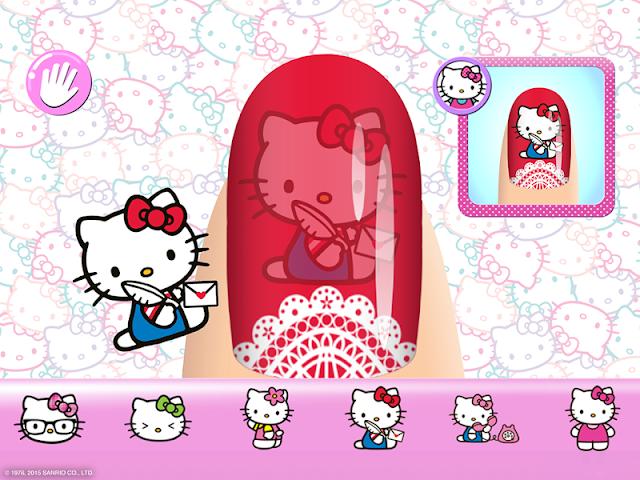 android Salon de manucure Hello Kitty Screenshot 7