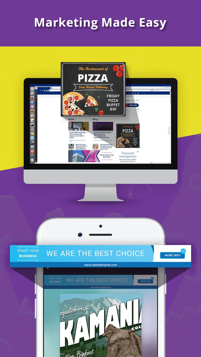 Banner Maker, Ad Maker, Web Banners, Graphic Art Screenshot 6