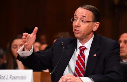 Highlights of testimony by Deputy AG Rosenstein and intelligence officials to Senate Intelligence Committee