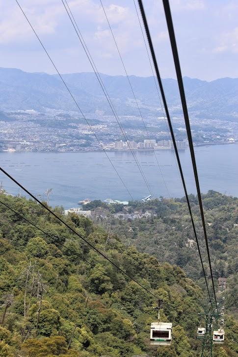 Miyajima, Itsukushima, Miyajima Ropeway