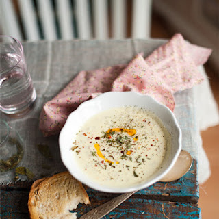 Yogurt Soup With Barley and Brown Butter
