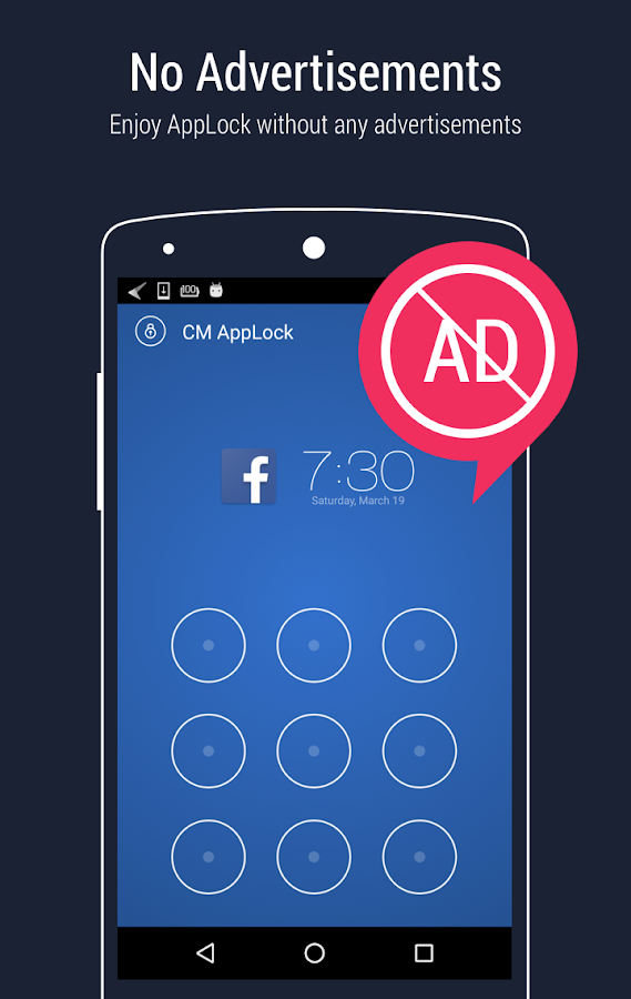 AppLock - Fingerprint Unlock- screenshot