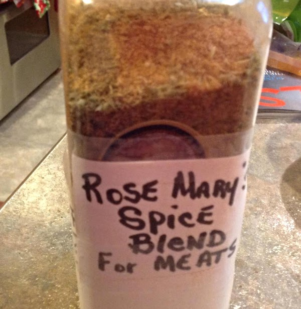 NOTE: I keep a bottle of Blended spices of my choosing that I use...
