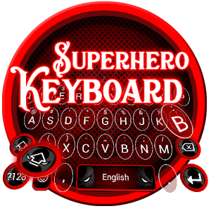 Superhero Keyboard Theme for PC